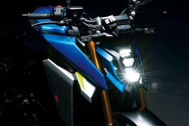 GSX-S1000 détail phare